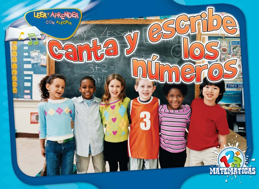 2011 - Canta y escribe los números (Chant and Write)  (eBook)