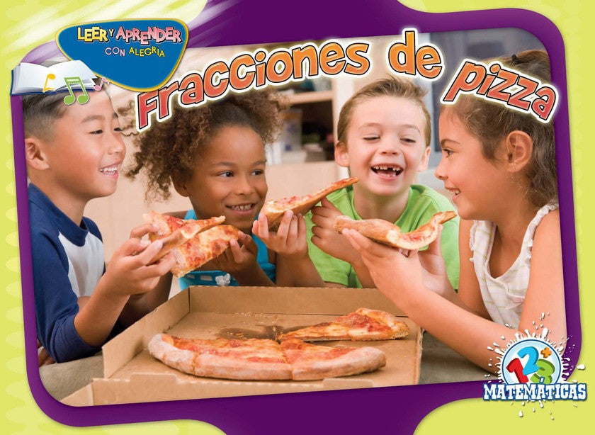 2011 - Fracciones de pizza (Fraction Pizza)  (eBook)