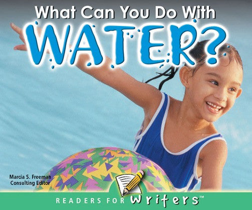 2004 - What Can You Do With Water? (Paperback)