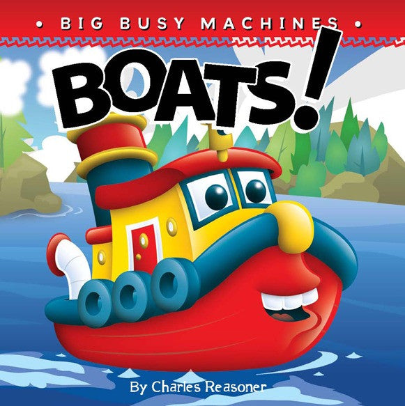 2019 - Boats! (Board Book)