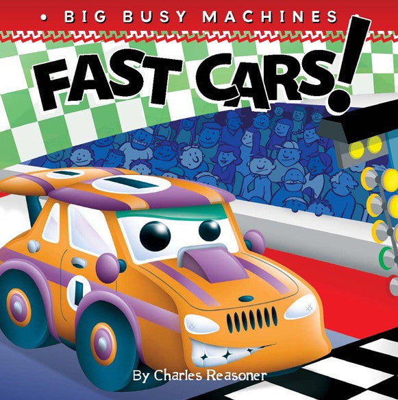 2019 - Fast Cars! (Board Book)