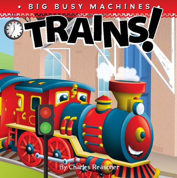 2019 - Trains! (Board Book)