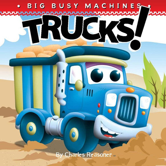 2019 - Trucks! (Board Book)