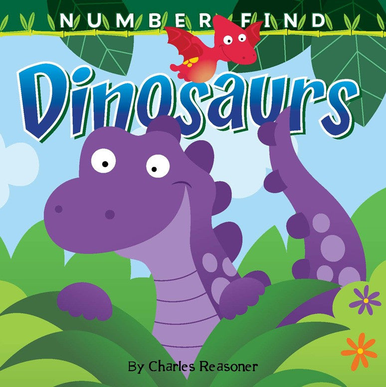 2019 - Number Find: Dinosaurs (Board Book)