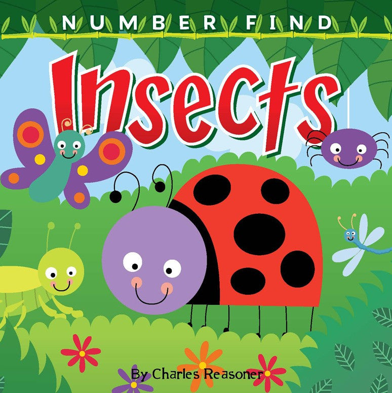 2019 - Number Find: Insects (Board Book)