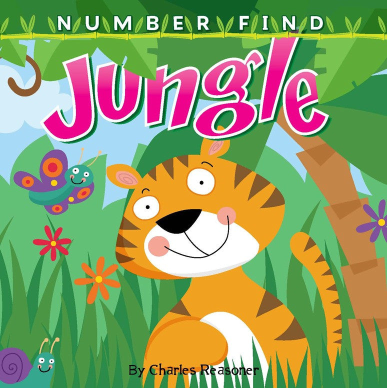 2019 - Number Find: Jungle (Board Book)