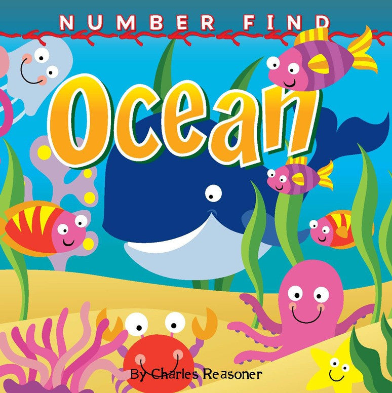 2019 - Number Find: Ocean (Board Book)