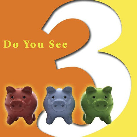 2019 - Do You See Three? (Board Book)