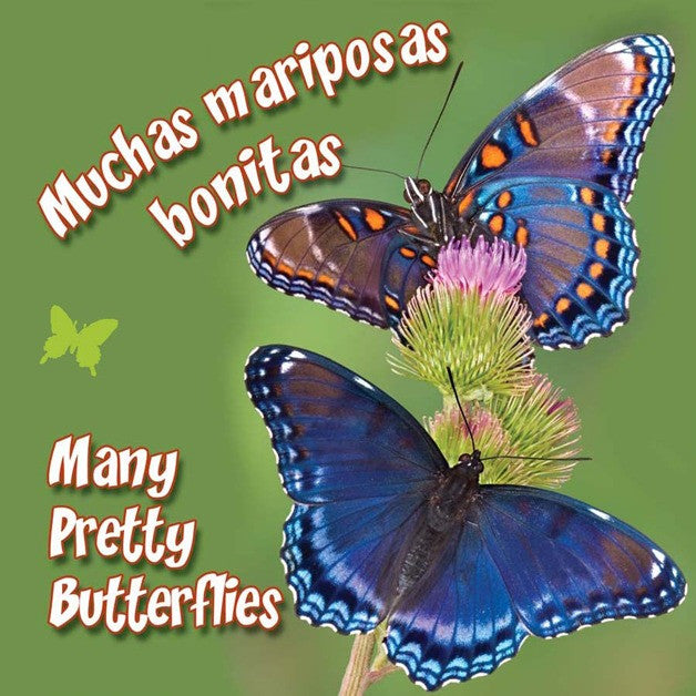2010 - Muchas mariposas bonitas  (Many Pretty Butterflies) (eBook)