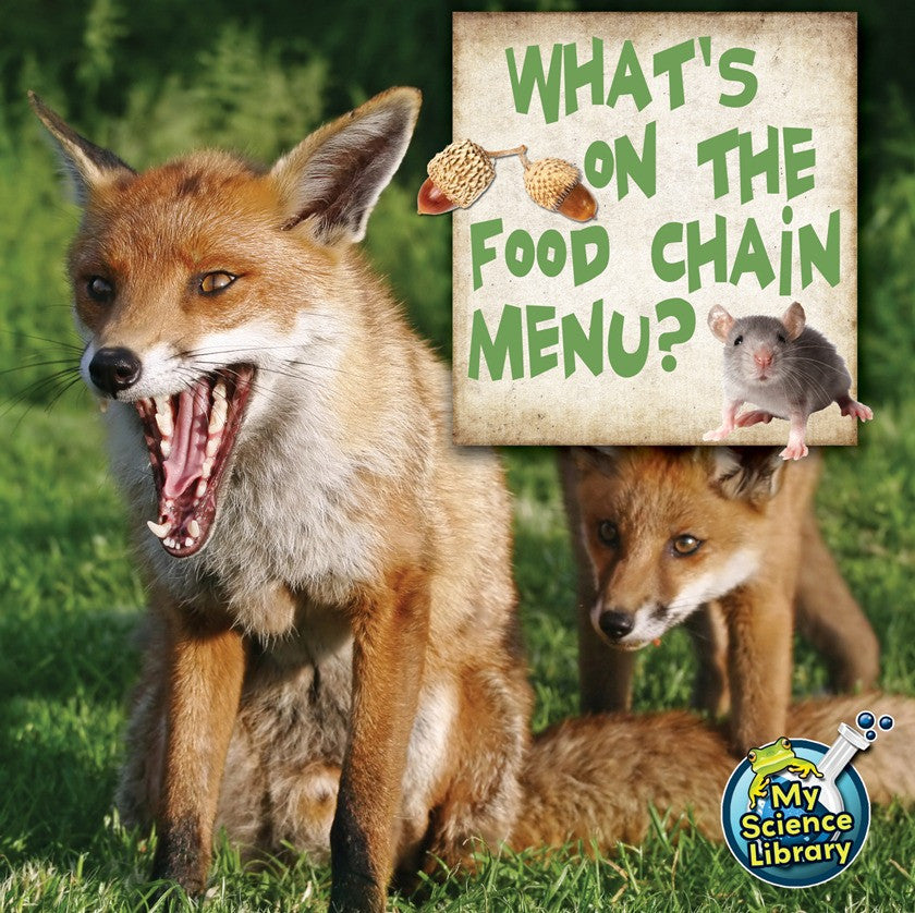 2012 - What's On The Food Chain Menu? (Paperback)