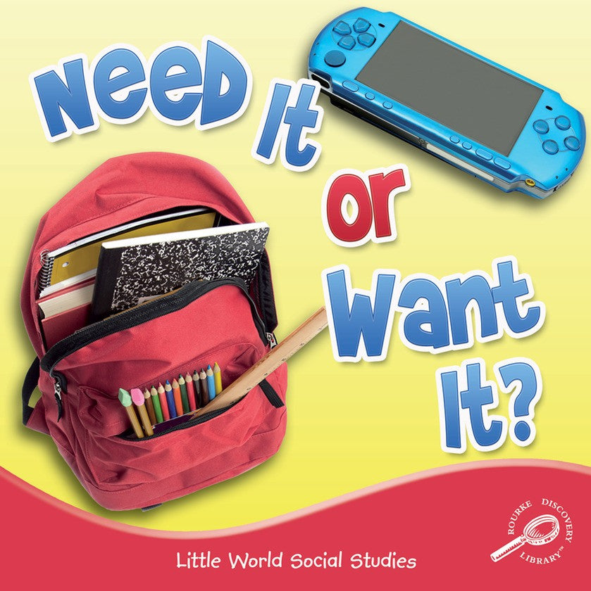 2012 - Need It Or Want It? (Paperback)