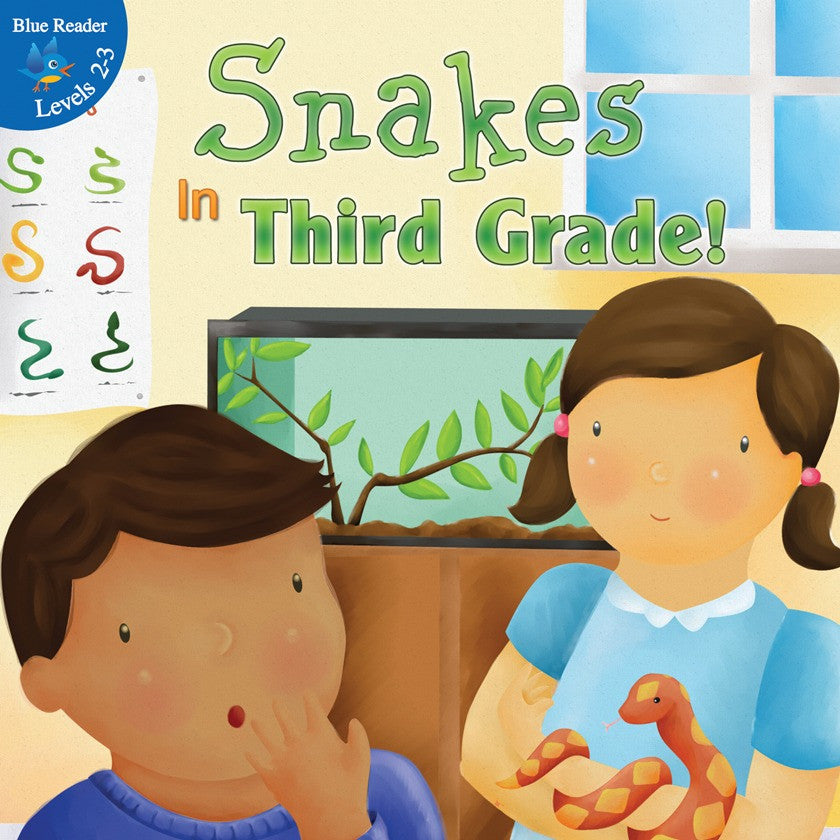 2012 - Snakes In Third Grade! (eBook)