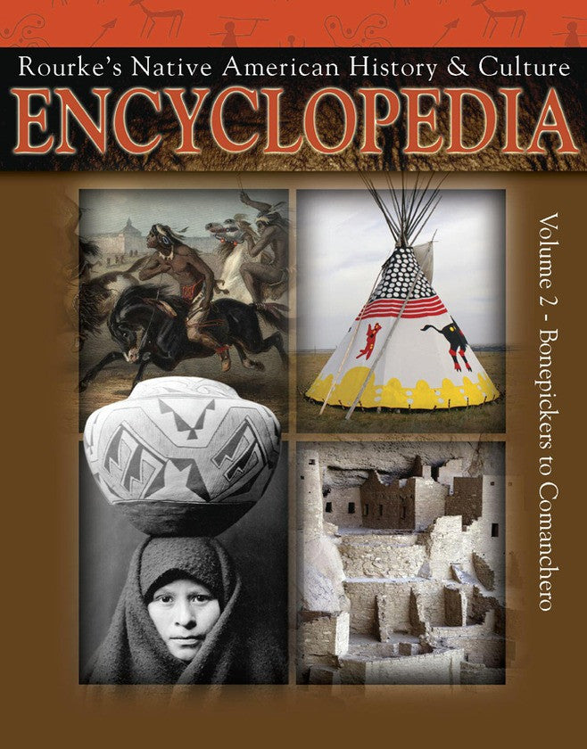 2009 - Native American Encyclopedia Bonepickers To Camanchero (eBook)