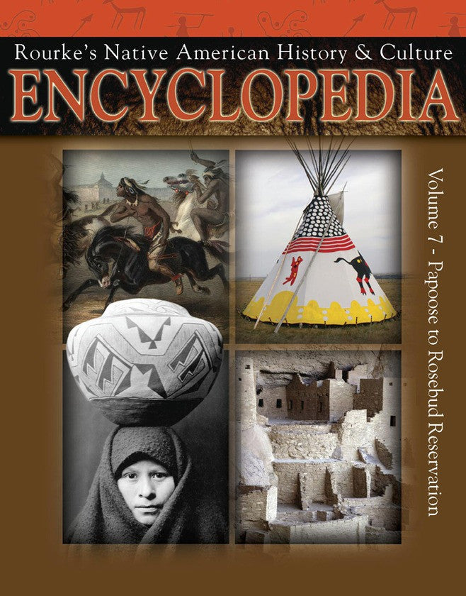 2009 - Native American Encyclopedia Papoose To Rosebud Reservation (eBook)