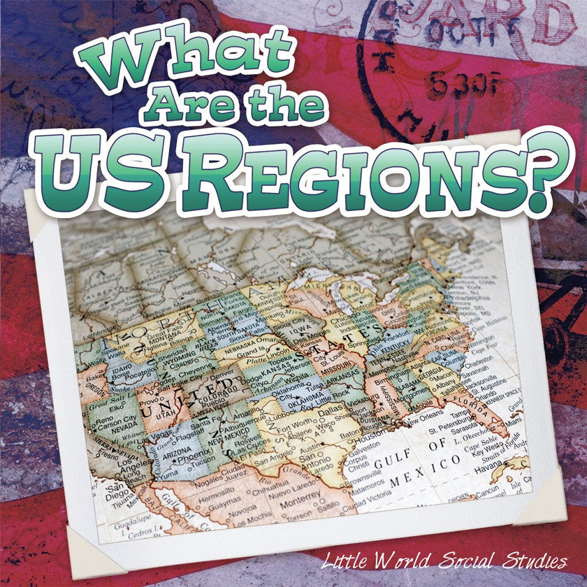 2013 - What Are The Us Regions? (Paperback)