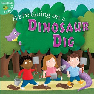 2013 - We're Going on a Dinosaur Dig (Paperback)