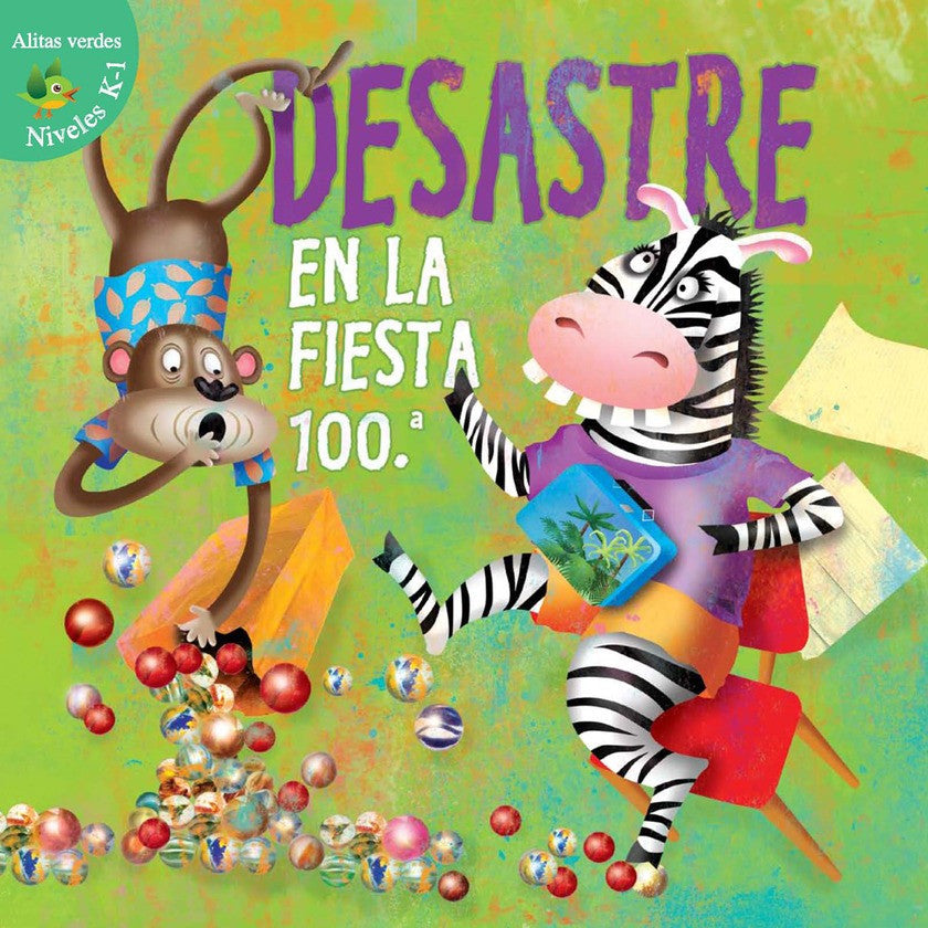 2012 - Desastre en la fiesta 100.A (Disaster On The 100th Day)  (eBook)