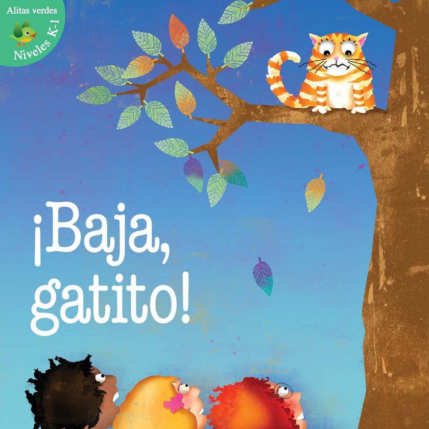 2012 - ¡Baja, gatito! (Kitty Come Down!)  (Paperback)