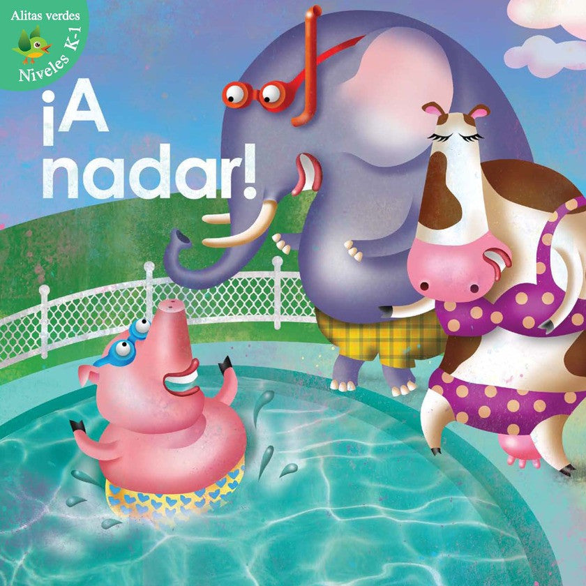 2012 - ¡A nadar! (Swim For It!)  (eBook)