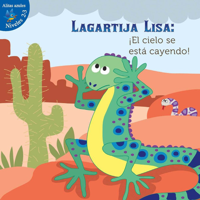 2012 - Lagartija Lisa: ¡El cielo se está cayendo! (Lizzie Little, The Sky Is Falling!)  (eBook)