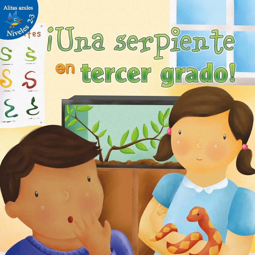 2012 - ¡Una serpiente en tercer grado! (Snakes In Third Grade) (eBook)