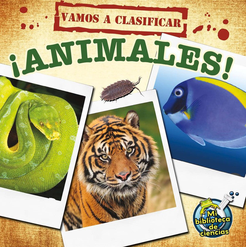 2012 - ¡Vamos a clasificar animales! (Let's Classify Animals!) (Paperback)