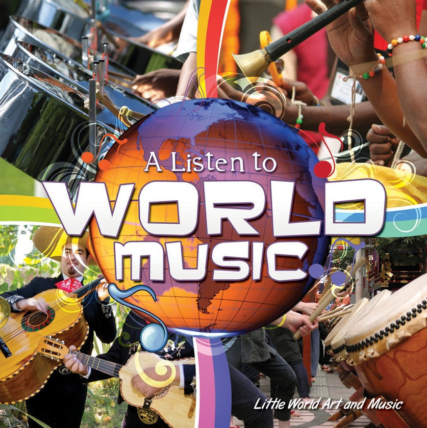 2014 - A Listen To World Music (Hardback)