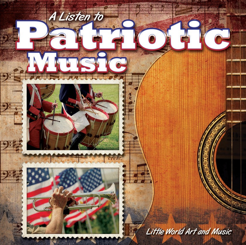 2014 - A Listen To Patriotic Music (Paperback)