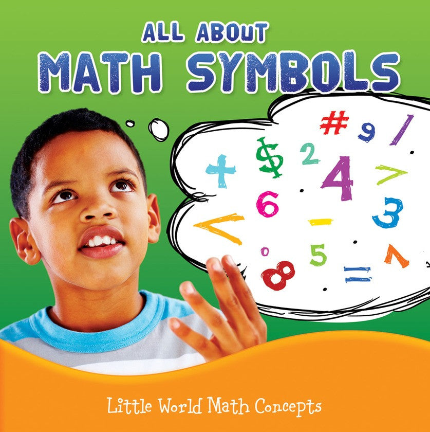 All About Math Symbols Hardback Rourke