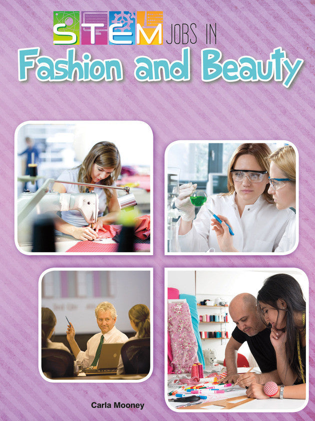 Stem Jobs In Fashion And Beauty Ebook Rourke