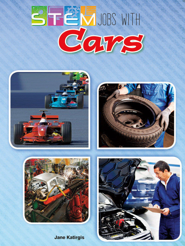 2015 - STEM Jobs with Cars (Hardback)