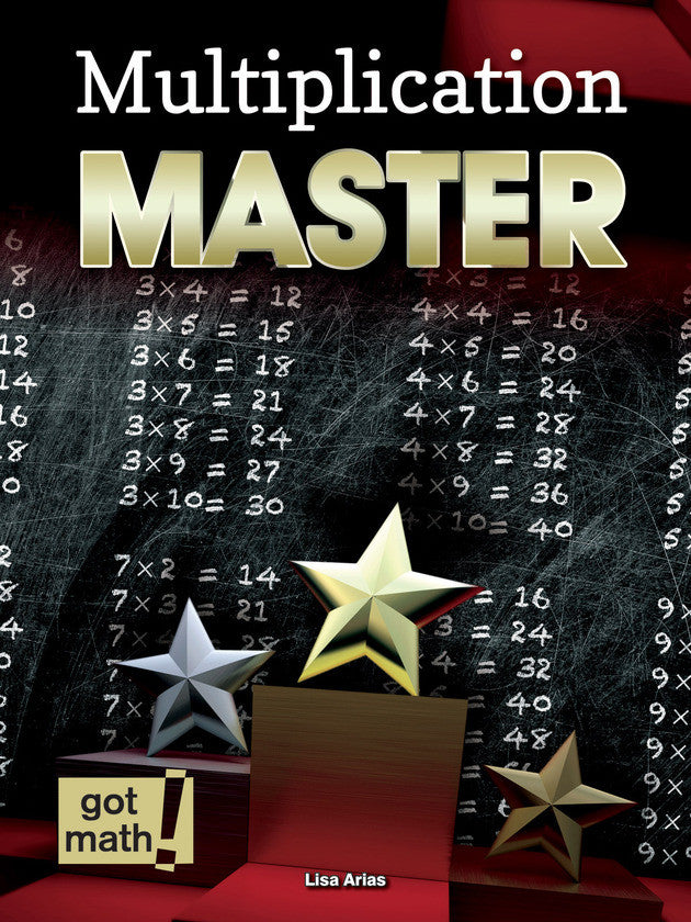 2015 - Multiplication Master (Hardback)