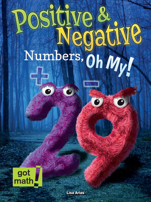 2015 - Positive and Negative Numbers, Oh My! (eBook)