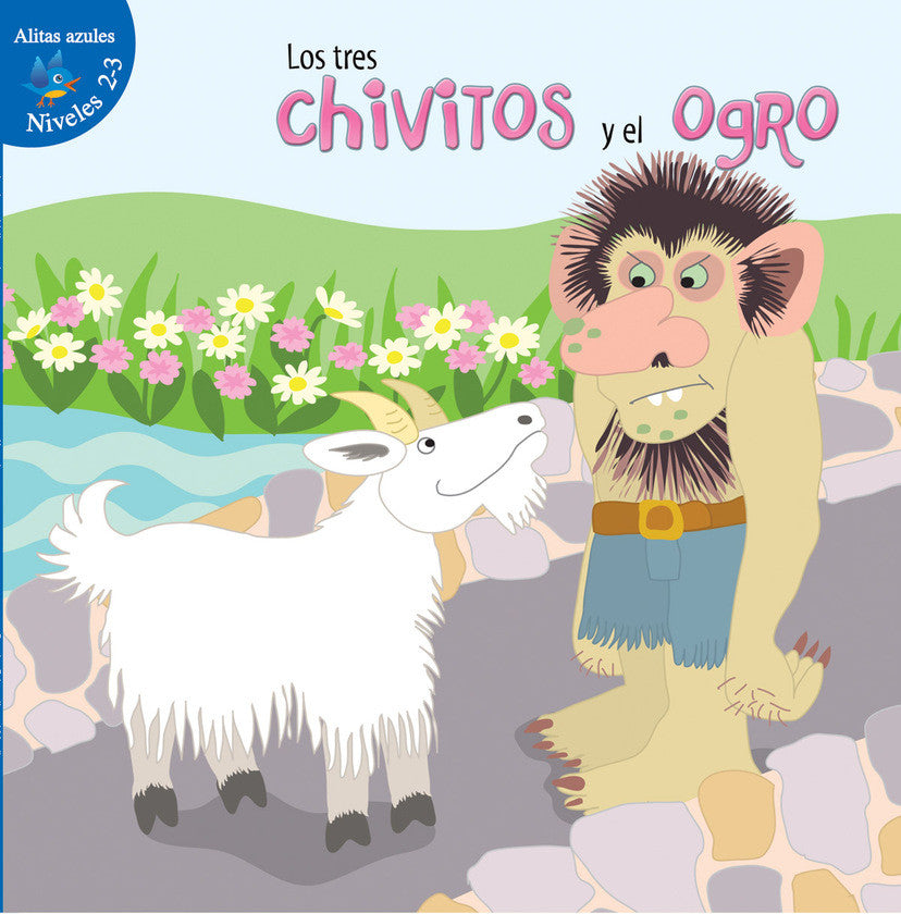 2016 - Los tres chivitos y el ogro (The Three Billy Goats and Gruff) (Hardback)