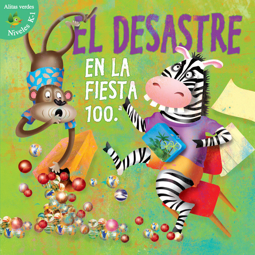 2016 - Desastre en la fiesta 100.A (Disaster On The 100Th Day) (Hardback)