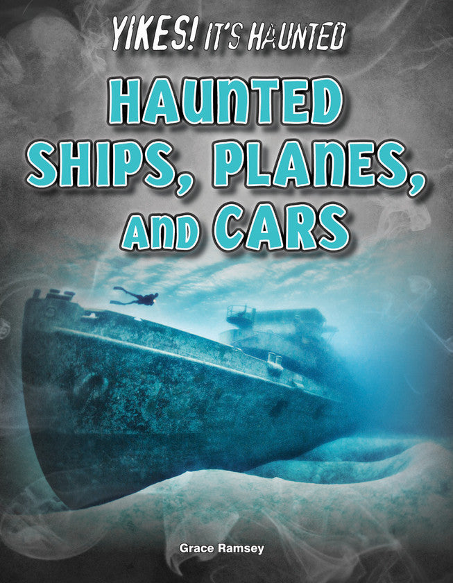 2017 - Haunted Ships, Planes, and Cars (eBook)