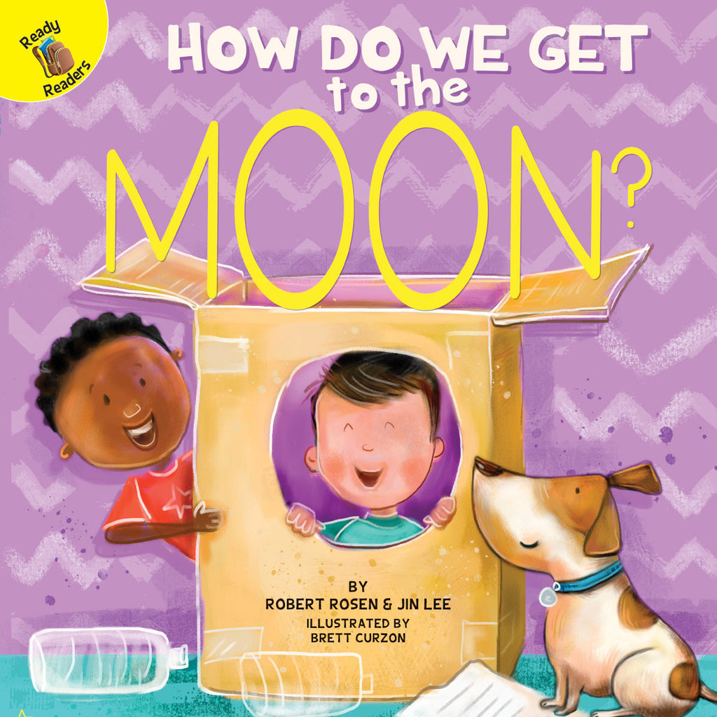 2018 - How Do We Get to the Moon? (Hardback)