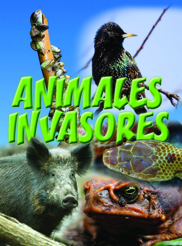 2015 - Animales invasores (Animal Invaders) (Hardback)