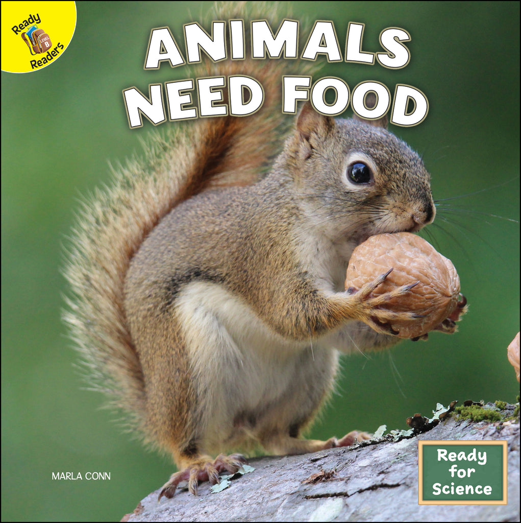 2021 - Animals Need Food (Hardback)