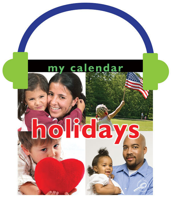 2013 - My Calendar: Holidays (Audio File)