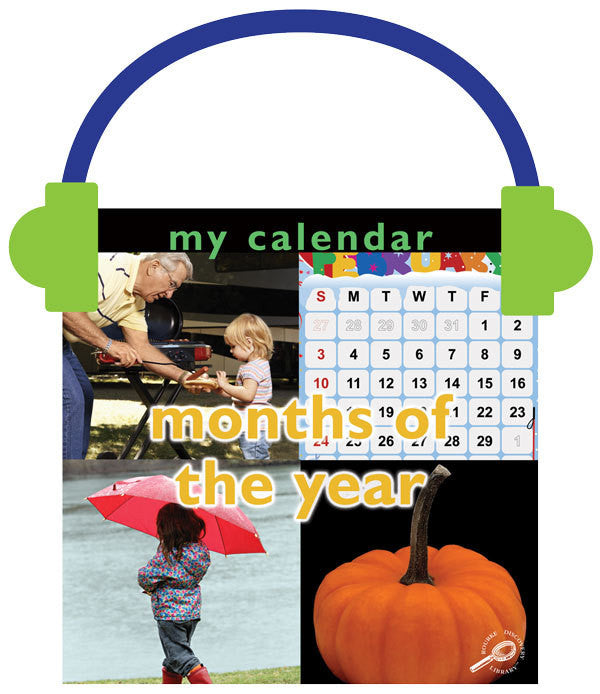 2013 - My Calendar: Months of the Year (Audio File)
