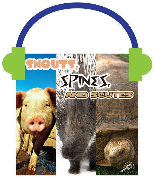 2013 - Snouts, Spines, and Scutes (Audio File)