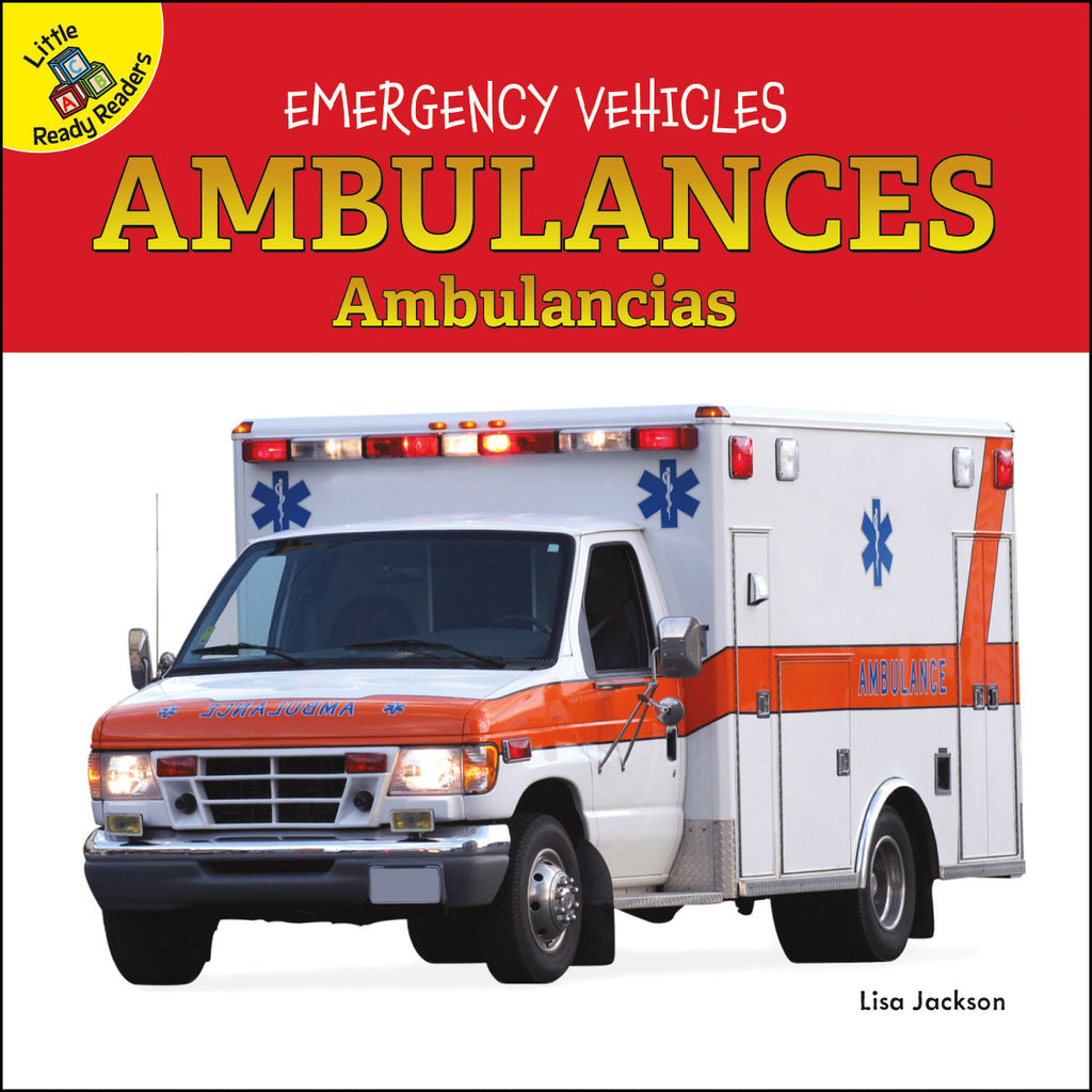 2020 - Ambulances Ambulancias (Board Books)