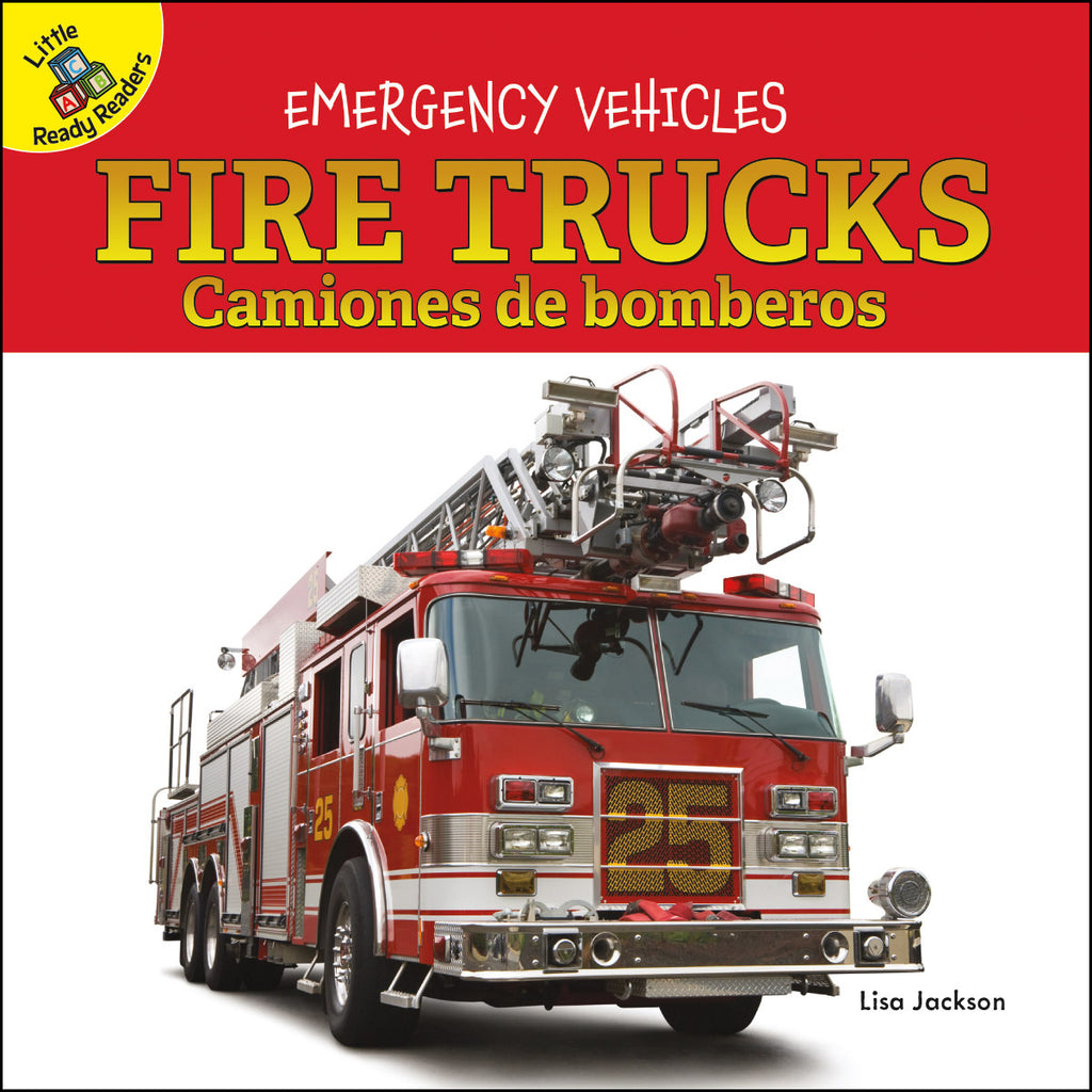 2020 - Fire Trucks Camiones de bomberos (Board Books)