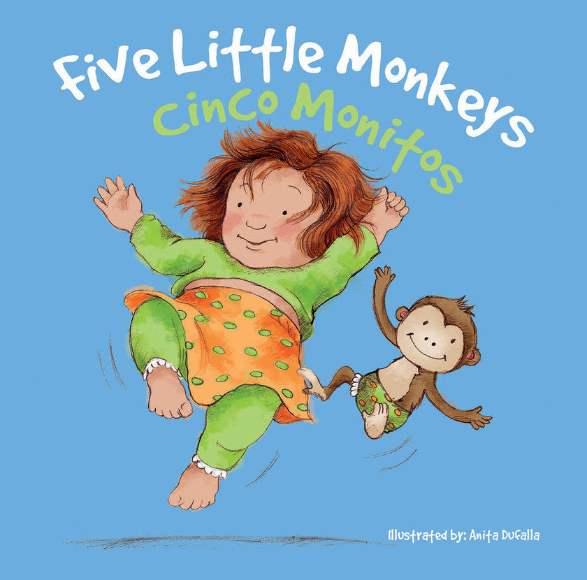 2017 - Cinco monitos / Five Little Monkeys (eBook)