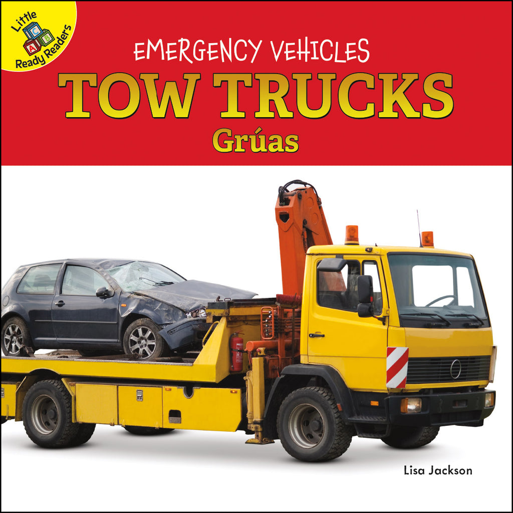 2020 - Tow Trucks Grúas (Board Books)