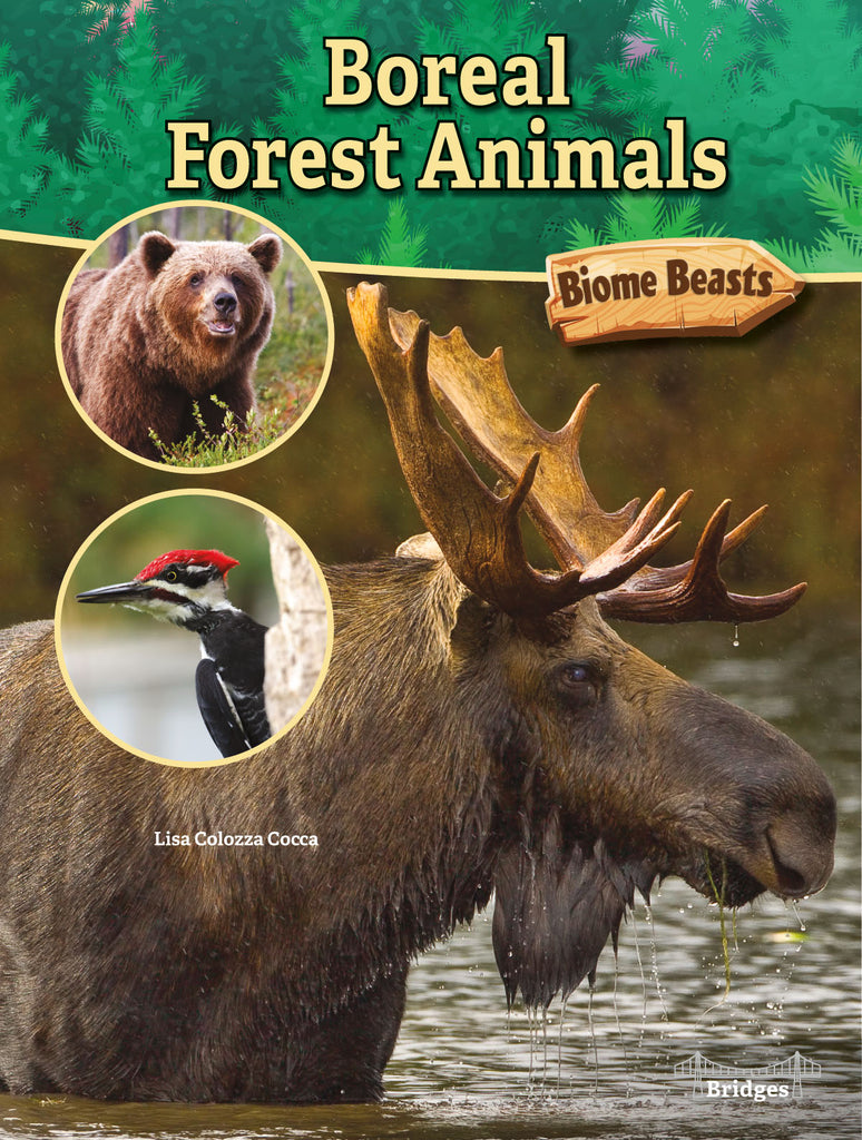 2020 - Boreal Forest Animals (Hardback)