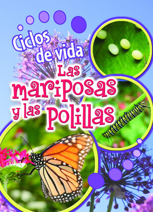 2014 - Ciclos de vida de las mariposas y las polillas (Butterflies and Moths) (eBook)