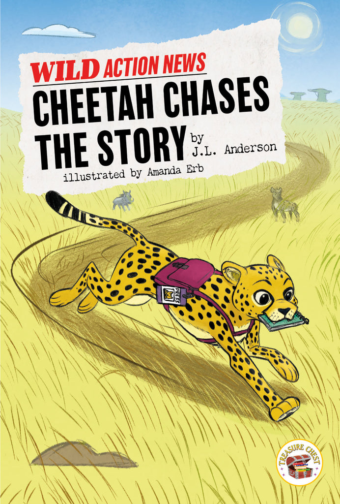 2020 - Cheetah Chases the Story (Hardback)
