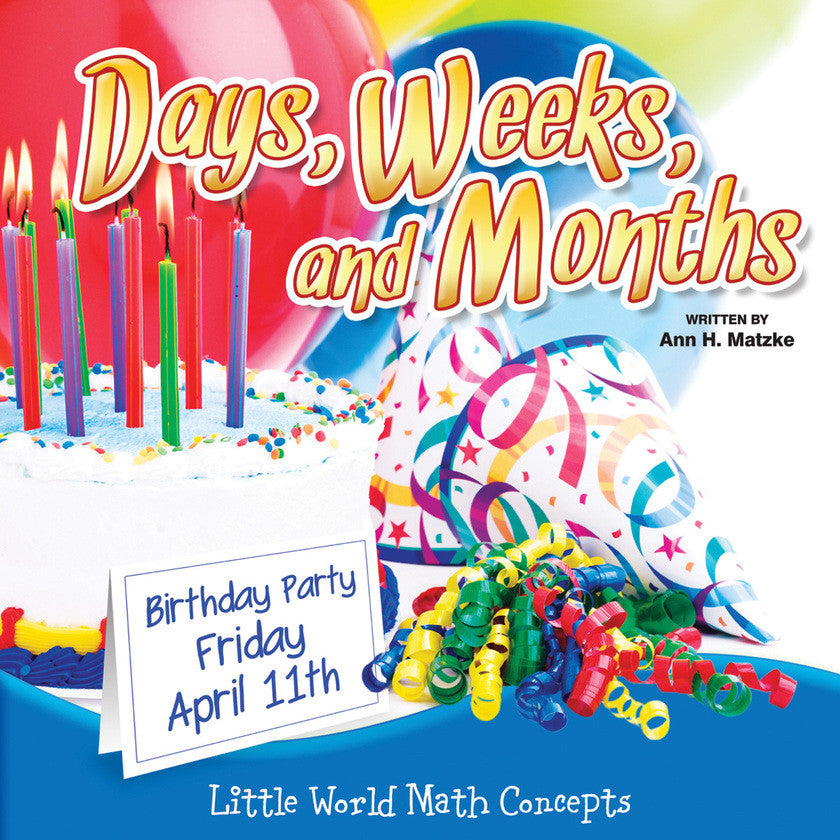 2014 - Days, Weeks, And Months (eBook)